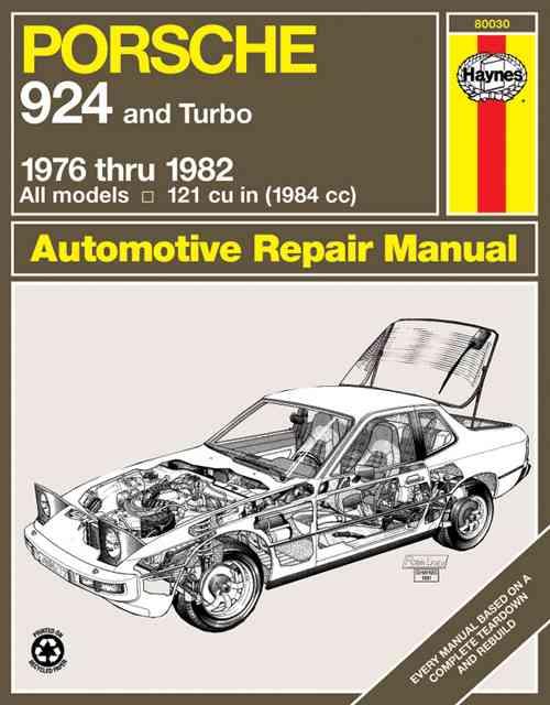 Porsche 924, 1976-1982 By Lipton, Charles/ Haynes, John Harold